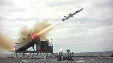 Photo of البحرية الأمريكية تعلن نجاح تجربة اختبار صاروخ مضاد للسفن