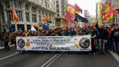 Photo of مظاهرة في مدريد للمطالبة بتحرير القادة الإنفصاليين