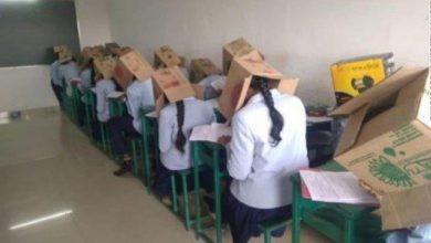 Photo of صور بالكرتون طريقة هندية غريبة لمنع الغش في الامتحانات