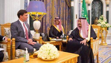 Photo of خادم الحرمين يستقبل وزير الدفاع الأمريكي