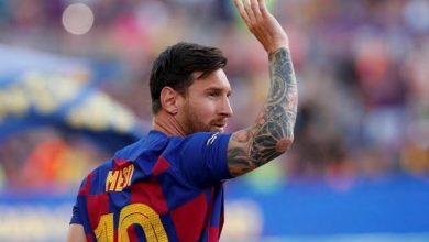 Photo of ليونيل ميسي يسجل رقمًا قياسيًا جديدًا في دوري أبطال أوروبا