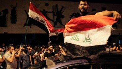 Photo of بغداد قوات الأمن تفرق المتظاهرين أمام المنطقة الخضراء