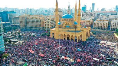 Photo of تسونامي بشري يجتاح لبنان