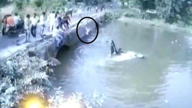 Photo of لحظات درامية في النهر أب حاول إنقاذ | جريدة الأنباء