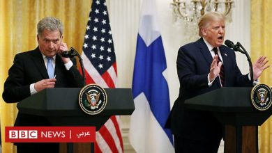 "Photo of ""لا تكن وقحا"".. ترامب يحتد على مراسل صحفي"