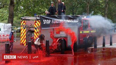 "Photo of نشطاء المناخ يخفقون في السيطرة على ""حمام الدم"""