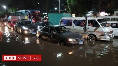 Photo of نزول المطر وغرق الشوارع في مصر يثير انتقادات وسخرية لاذعة