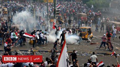 Photo of مظاهرات العراق: استمرار الاحتجاجات رغم حظر التجول والصدر ينضم للمتظاهرين في النجف