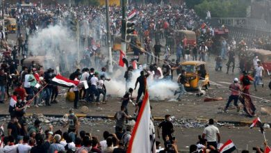Photo of قوات الأمن تطلق النار في الهواء لتفريق محتجين في بغداد