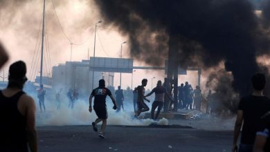 Photo of العراق مقتل شخصين وإصابة في مواجهات بين الأمن والمتظاهرين