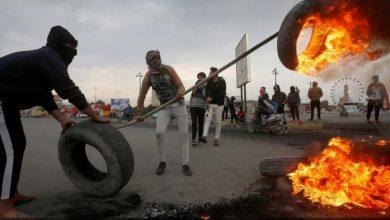Photo of العراق لليوم الثالث على التوالي قطع الطرق الرئيسية في البصرة