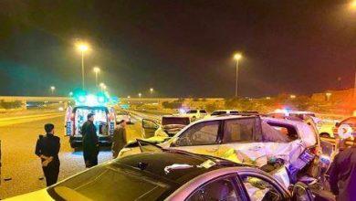Photo of وفاة مواطن وإصابة آخرين في حادث تصادم على طريق جاسم الخرافي
