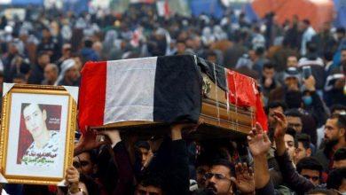 Photo of الشرطة العراقية عدد قتلى الاحتجاجات يتجاوز قتيل