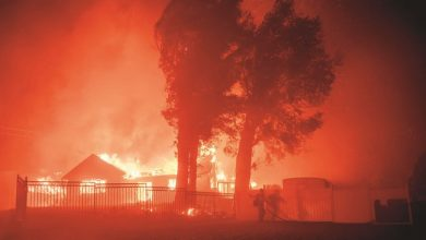 Photo of بسبب الحرائق بدأت موجات إجلاء جديدة في جنوب ولاية كاليفورنيا