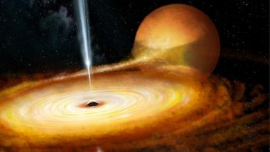 Photo of بالفيديو.. ولأول مرة: إشعاعات هائلة تنبعث من ثقب أسود يبعد 10 آلاف سنة ضوئية عن الأرض!