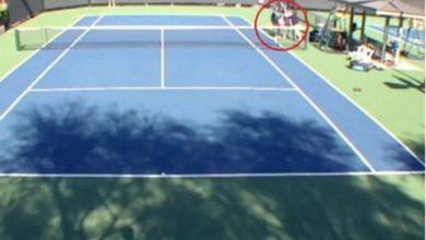 "Photo of بالفيديو.. شجار غريب بين لاعبتي ""تنس"" على أرض الملعب"