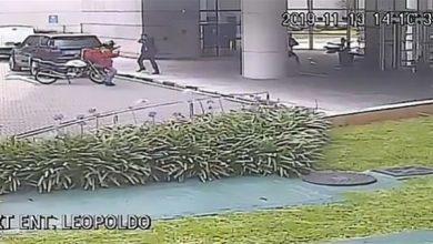 Photo of بالفيديو حارس شخصي ينقذ امرأة من | جريدة الأنباء