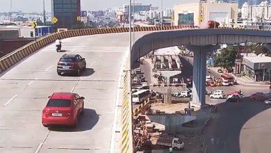 Photo of بالفيديو سقوط سيارة على رؤوس المارة | جريدة الأنباء
