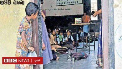 Photo of صورة لطفلة تختلس النظر إلى فصل دراسي تثير تعاطفا واسعا في الهند