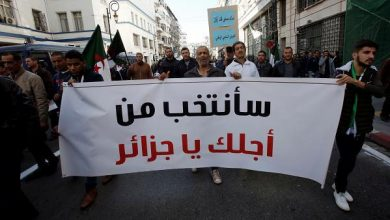Photo of مظاهرات في العاصمة الجزائرية تأييدا للانتخابات الرئاسية