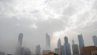 Photo of الأرصاد طقس غائم وفرصة لسقوط أمطار نهارًا مائل للبرودة ليلًا