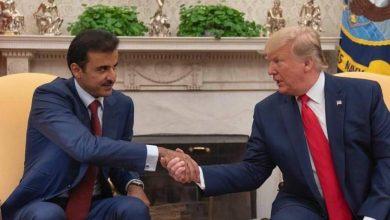 Photo of أمير قطر يناقش مع ترمب آخر المستجدات على الساحتين الإقليمية والدولية