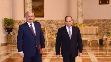 Photo of وسائل إعلام مصرية حفتر يزور القاهرة خلال ساعات