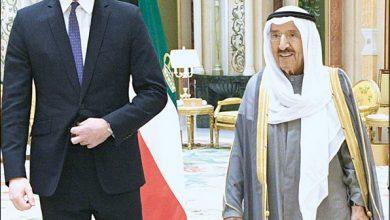Photo of بالفيديو صاحب السمو بحث مع الأمير   جريدة الأنباء