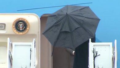 Photo of المظلة والرئيس ترامب