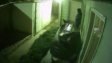 Photo of بالفيديو رجل ينجو من الموت بعد سقوط   جريدة الأنباء