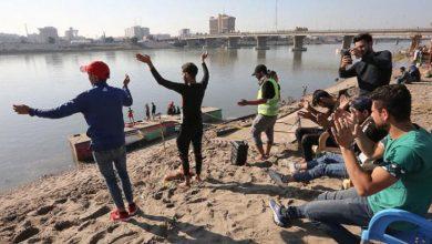 Photo of شاطىء التحرير في وسط بغداد متنفس   جريدة الأنباء