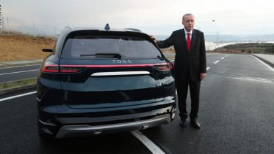 Photo of بالفيديو أردوغان يقود أول سيارة | جريدة الأنباء