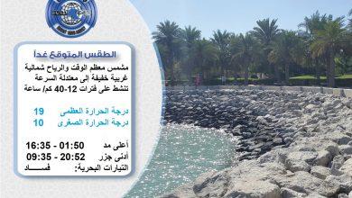 Photo of الطقس المتوقع غدا الثلاثاء