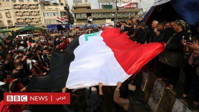 "Photo of مظاهرات العراق: ""احتجاجات حاشدة"" في بغداد في ذكرى إعلان هزيمة تنظيم الدولة"