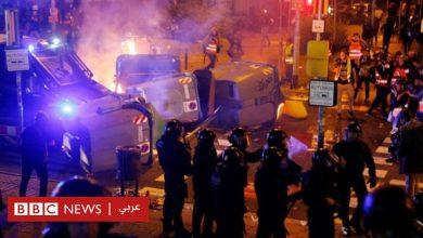 Photo of الكلاسيكو الإسباني: اشتباكات عنيفة بين الشرطة ومحتجين كاتالونيين