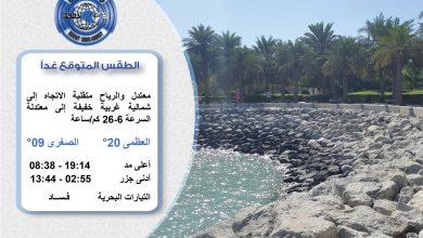 Photo of الطقس المتوقع غدا الاثنين