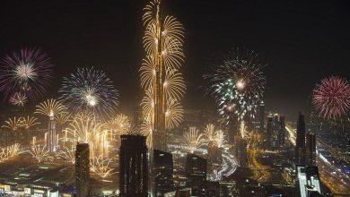 Photo of الإمارات تطرق أبواب غينيس بعروض الألعاب النارية