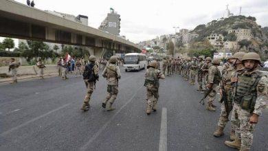 Photo of الجيش اللبناني يعلن توقيف مواطناً أثناء فتح طرقات من قبل وحدات..