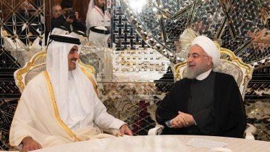 Photo of أمير قطر يبحث مع الرئيس الإيراني تطورات الأحداث بالمنطقة والقض..