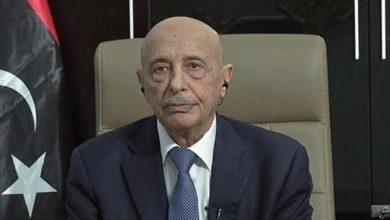 Photo of عقيلة صالح يبحث في القاهرة جهود تسوية الأزمة الليبية