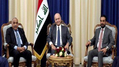 Photo of رئاسات العراق: الإسراع في تشكيل الحكومة الجديدة