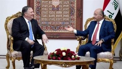 Photo of وزير الخارجية الأمريكي والرئيس العراقي يؤكدان ضرورة الحد من التوترات