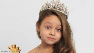 Photo of بيا أول طفلة مصرية تفوز بلقب ملكة جمال في روسيا