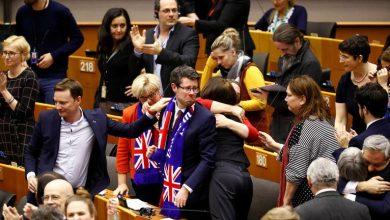 Photo of البرلمان الأوروبي يصادق بشكل نهائي على بريكست مع بريطانيا