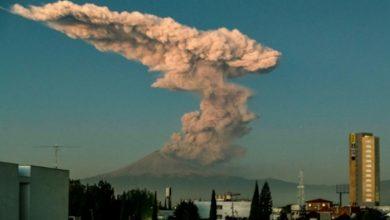Photo of بالفيديو أخطر بركان في المكسيك يطلق   جريدة الأنباء