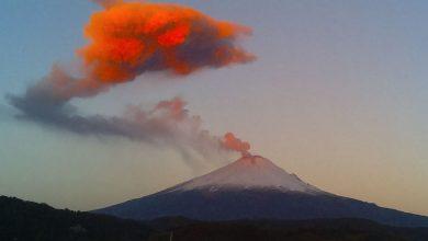 Photo of ثوران بركان في المكسيك