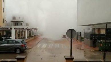 Photo of بالفيديو موجات عالية تضرب شواطئ   جريدة الأنباء