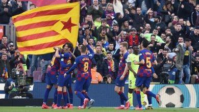 Photo of برشلونة يعبر خيتافي مواصلاً مطاردة ريال مدريد