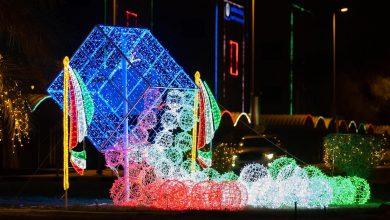 Photo of شوارع دولة الكويت تزدان احتفالاً بالأعياد الوطنية
