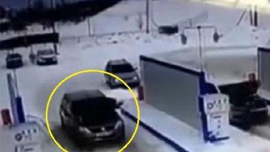Photo of بالفيديو دخل المحطة بسيارته ليتزود | جريدة الأنباء